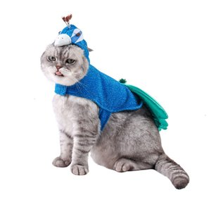 Liefert neue Haustierprodukte Market Blue Peacock Cat Hundekleidung