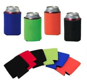 Other Kitchen Tools Wholesale Many Colors Blank Neoprene Foldable Stubby Holders Beer Cooler Bags For Wine Food Cans Cover 3Re6N V0Inw