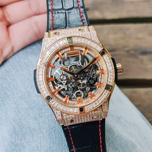 Men Women Diamond Watches Top Quality Designer Watch Automatic Mechanical Stainless Steel Selfwind Silver Rose Gold Master WristWatch