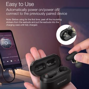 [Двойной драйвер движения] TWS Earbuds Bluetooth 5.0 In-ear Wireles Wireles Pro Bass Stereo Hifi Музыка