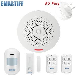 الذكية التحكم في المنزل إنذار لاسلكي tuya wifi نظام الأمن كيت التطبيق الحركة كاشف الاستشعار السرقة