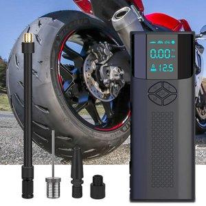 12V 150 PSI Portable Car Inflator Pump Tire Inflator Cordless Compressor Digital display Tyre Pump For Car Bicycle Tires Balls