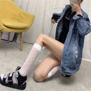 2020 ultra thin moon silk mesh tide brand female leg stockings hollow fishing net stockings4RVO