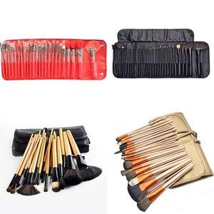 Pinceles de maquillaje profesional 24pcs 3 colores maquillaje conjuntos de cepillos conjunto de cosméticos GWB6299