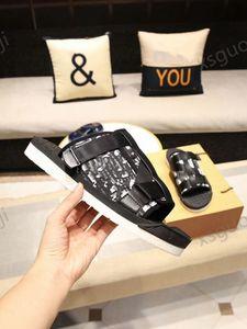 Dior slippers Moda Hombres Alfa Sandalias Slippers Slide Oblicu Jacquard Summer Man Slipper Nylon Bandas Soft Goma Sole Scoffs