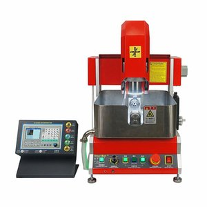 Electric Trimmers LY 2021 4 Axis CNC Engraving Machine Router For Jewelry Wax Seal With Off-line Working Function 800W Spindle Mach3 Softwar