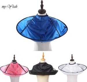 Salon Care Styling Tools Drop Delivery 2021 Coloring Products Wrap 4 Colors Diy Umbrella Cape Cutting Cloak Shave Apron Hair Barber Gown Cove