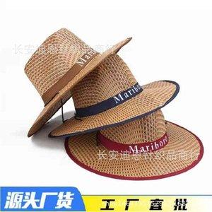 Factorynvn7Western Papel Playa Playa de Pesca Pesca Al Aire Llano Cowboy Hat Protección solar