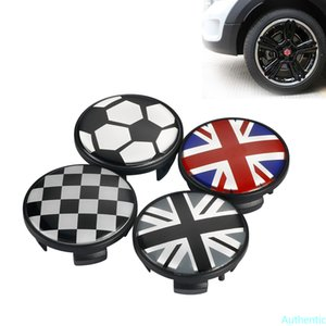 4pcs ABS Car Wheel Center Hub Caps For Mini Cooper JCW One+ S Countryman R55 R56 R60 R60 F55 F56 Car Styling Accessories