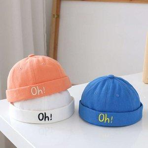 caps Baby Hat spring and autumn summer thin children's sun visor landlord Korean versatile boy super cute melon skin