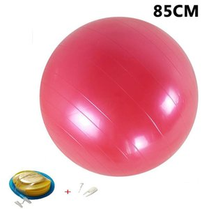 Yoga Balls Pilates Fitness Gym Massager Point Balance Fitball Exercise Workout Ball 45 55 65 75 85cm With Pump sqciYa pingtoy