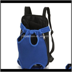 Car Seat Ers Home & Garden Drop Delivery 2021 1Pcs Outdoor Travel Dog Pad Bags Pet Supplies Backpack Portable Pure Color Nylon Breathable S M