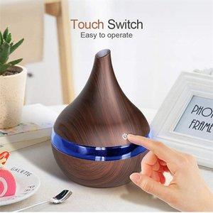 Увлажнитель ароматерапия спрей 300 мл USB электрический ароматический аромат воздуха диффузор древесины ультразвуковой прохладный туман производитель для дома