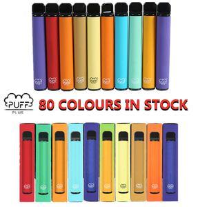 Puf Çubuğu Artı Tek Kullanımlık Cihaz Pil 3.2ml Pod 80 Renkler Hiçbir Bakım Şarj veya Doldurma XXL Max Çift Bang XXL Hava Çubuğu Lux