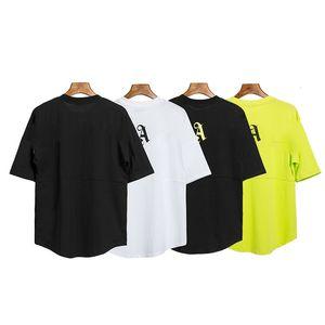 2020 новых дизайнеров мужские футболки красота прилив большие задние печать ладони круглые шеи с коротким рукавом футболка мужчины и женщины 3 цвета