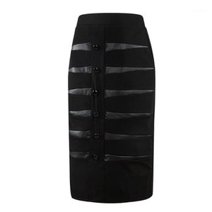 YOUYEDIAN 2019 Clothes Women professional Hind Skirts Wear to Work Bodycon Skirts Faldas Mujer Moda 2019 Women Skirt Vintage@41