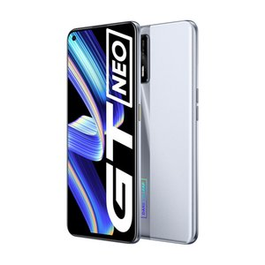 Original Realme GT Neo 5G Mobile Phone 8GB RAM 128GB ROM MTK Deminsty 1200 64.0MP 4500mAh Android 6.43 inch AMOLED Full Screen Fingerprint ID Face NFC Smart Cellphone