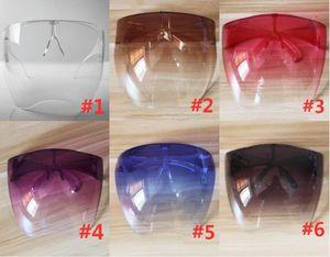 Cancella protezione protettiva Shield Party Masks Glasses Goggles Party di sicurezza Impermeabile Maschera anti-spray Goggle Occhiali da sole in vetro