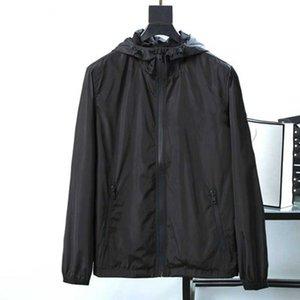 Europa e America20Ss Designers Jaquetas masculinas Mens Primavera Outono High-End Zipper Com capuz de manga comprida Luxo lazer bonito