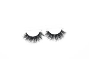 Dramatic 25mm Mink Eyelashes Fluffy Messy 3D False Lashes Long Natural Soft Eyelash Wholesale For Makeup