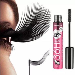 4D Smudge-proof Mascara Waterproof Eyelash Fiber Black Ink Rimel Curling Eye Lash lengthening Makeup Extension Volume Mascara bea029