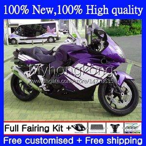 Bodywork +Tank cover For BMW K1200-S K1200 S K1200S 2005 2006 2007 2008 2009 2010 Body 4No.85 K 1200S 05-10 K-1200S K 1200 S 05 06 07 08 09 10 Full Fairing Kit New Purple