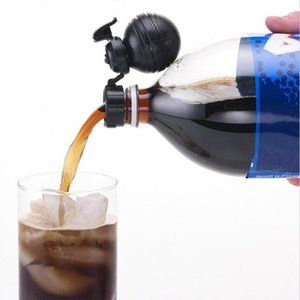 Drinking Straws 1pc Soda Bottle Lid Sealing Beverage Cap Carbonated Drink Leak-proof Cover Manual Inflation Stopper Protector Snap
