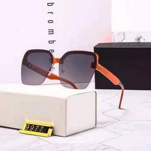 Top quality fashion women's sunglasses, orange gradient lenses, ladies beach sunshade and anti-radiation glasses