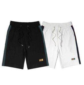 الصيف مصمم السراويل للرجال الرباط trackpants مع خطابات التطريز جودة عالية رجل النساء sweatpants الأزياء ركض السراويل القصيرة S-2XL