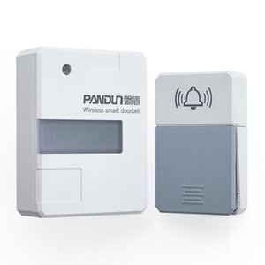 Wireless Doorbell Smart Night Light With Battery-Free Installation Circuit Self-Generation Outdoor Waterproof Doorbells