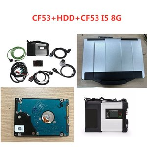 Diagnostic Tool mb star c5 sd connect Wifi Diagnosis SD C5 Wireless Function with HDD software 2020.12 with CF53 I5 Laptop 8G