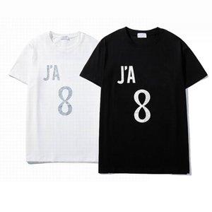 2021 Mens Bayan Tasarımcıları T Gömlek Moda Erkekler S Casual Tshirt Adam Giyim Sokak Lüks Markalar Şort Kol Giysileri Tişörtleri 21ss