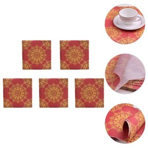 Table Napkin 100 Pcs Disposable Banquet Two Layers Paper Serviettes For Wedding Dinner