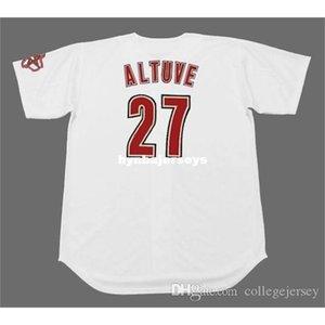 Cheap Custom JOSE ALTUVE Houston Stitched 2012 Majestic Vintage Home Baseball Jersey Retro Mens Jerseys shirt