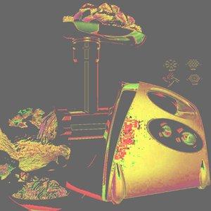 Meat Grinders 2800W Electric Heavy Duty Grinder Kitchen Mincer Sausage Stuffer Maker Food Processor Slicer