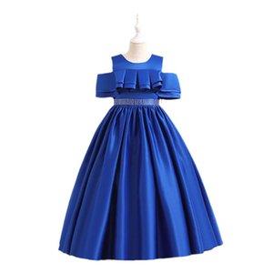 Girls Dresses Kids Clothes Children Clothing Princess Evening Banquet Formal Birthday Dress Ball Gown B8248