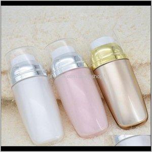 Storage Jars 100 X 30Ml Empty Bb Cc Face Acrylic Tubes Pink Gold Liquid Makeup Foundation Pump Airless Travel Bottles Containers Jgooz Gltzx