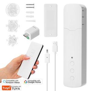 Tuya WiFi Akıllı Perde Motorlu Ev Dönüştürücü Uygulaması ile / Alexa Google Smart için Sessiz Sessiz