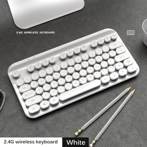 Mechanical Keyboard With Comfortable 88keys Game Hand Feeling 2.4GHz Wired Keyboards For PC Laptop