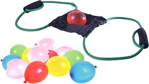 Three Person Water Balloons Launcher for Summer Games - Water- Balloon Slingshot for Kids and Adults
