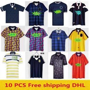 1998 2000 1992 1993 Scotland Retro 1982 1986 Soccer Jersey Equipment Kits 1978 1988 1990 1994 1996 Классический старинный футбол