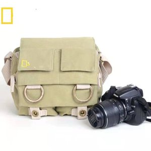 Photography Digital Camera Single Shoulder Bag Universal for Nikon Canon withwaterproofcover