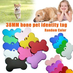 Dog Tags 38MM Aluminum Alloy Pet Cat ID Identity Badge Plate Supplies Drop Car Seat Covers