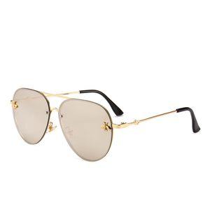 Brand Designer Fashion Women Small Bee Sunglasses Colourful Rivet Glasses Female Male Outdoor Traveling Eyeglasses UV400