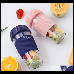 Vegetable Tools Portable Mini Electric Juicer Extractors Household Usb Rechargeable Mixers Cup Fruit Smoothie Maker Blender Hine Sea W Ge8Ln