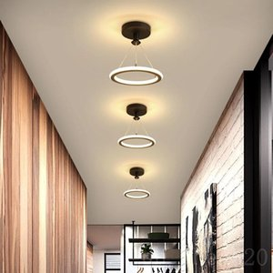 New Design LED Chandeliers For Aisle Bedroom Corridor Living Room Stairway Villa Bistro Indoor Home Decorative Lighting Fixtures