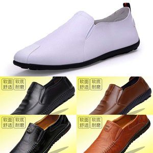 Casual shoes Men's shoes 2021 spring new breathable men's business casual leather with soft and sole ES33