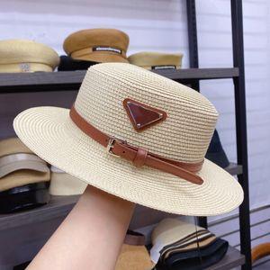 Designer Cap Eimer Hut Mode Männer Frauen Einbau Hüte Hohe Qualität Stroh Sun Caps
