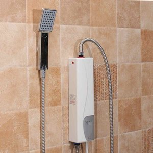 220V 3000W Electric Water Heater Instant Electric Indoor Shower Tankless Water Heater Kitchen Bathroom Bathroom Water Heating