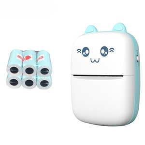 Printers Wireless Label Printer Bluetooth Mini Portable Pocket HD Thermal Po Tag Price Sticker Fast Printing